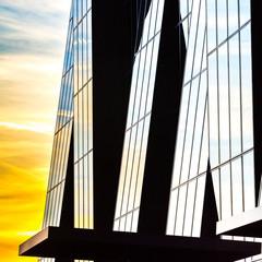 """""""Crossing lines - abstract"""", Skyscraper, Vienna"""