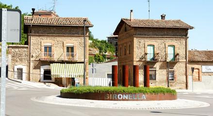Rotonda de Gironella, Barcelona