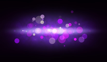 Abstract background with big color spots and glow