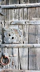 Puerta vieja para fondos y texturas
