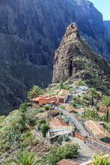 Masca Dorf und Schlucht auf Teneriffa (Spanien)