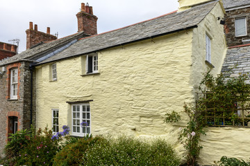 old cottage at Boscastle, Cornwall