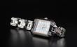 photo luxury woman's watch on black - 73062244
