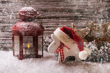 Winter Christmas time