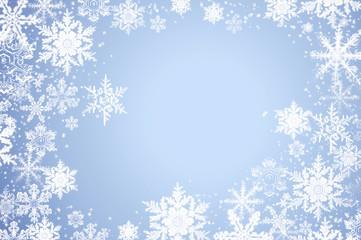 Schnee und Eis Kristalle