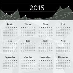 Calendrier 2015 vector