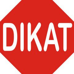 Achtungschild, türkisch