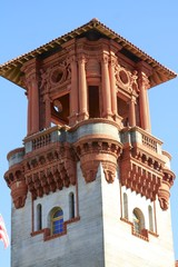 Lightner Museum Tower architecture