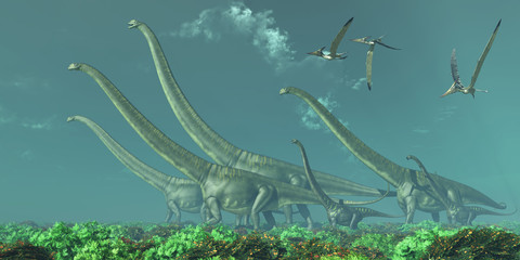 Mamenchisaurus Dinosaur Travels