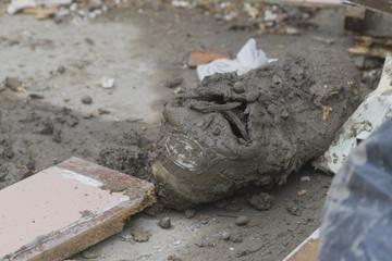 Vendita scarpe alluvionate