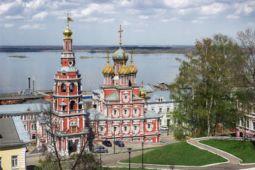 Cathedral Church Of The Blessed Virgin Mary. Russia. Nizhny Novg