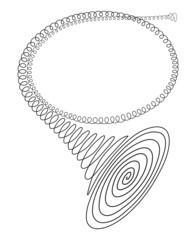 cor symbole spirale