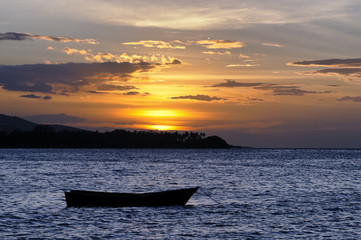 Sunset on the Gulf of Paria