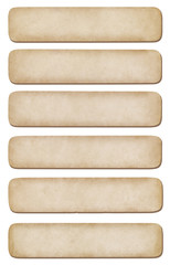 Set of different paper for notes