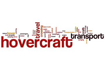 Hovercraft word cloud