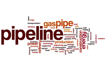 Pipeline word cloud