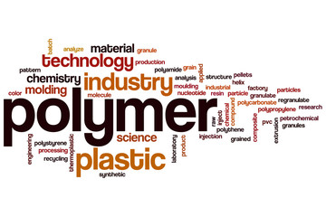 Polymer word cloud
