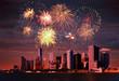Obrazy na płótnie, fototapety, zdjęcia, fotoobrazy drukowane : Fireworks over NYC