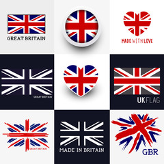 Union Jack UK Flags
