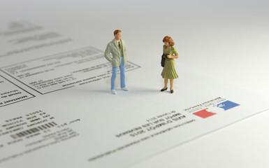 Les impôts en France. Être conseillé.