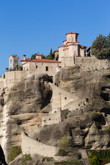 The Holy Monastery of Great Meteoron, in Greece. This is the lar