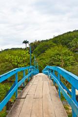 Bridge over Sahy river, Sao Sebastiao - Brazil