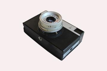 объектив старого фотоаппарата