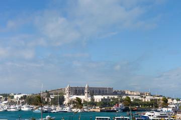 Bermuda Harbor Skyline