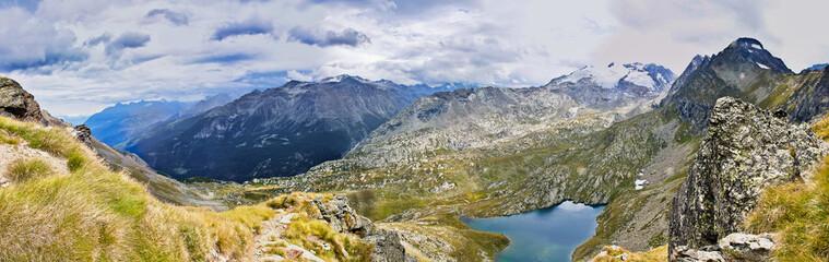 Panorama Alta via Valle d'Aosta
