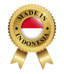 Made in Indonesia (Gold)