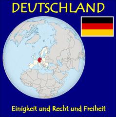 Germany location emblem motto