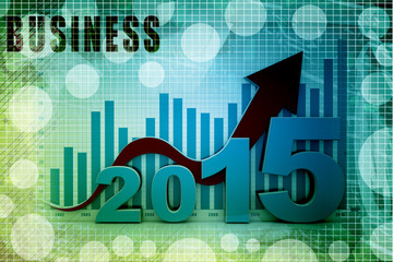 Business graph, two thousand fifteen
