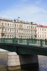 Фрагмент Красноармейского моста. Санкт-Петербург