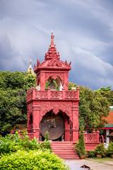 Buddhist temple named Wat Phra That Hariphunchai