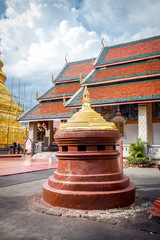Buddhist temple named Wat Phra That Hariphunchai