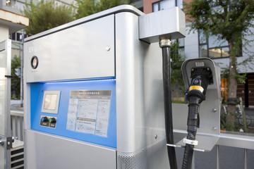 電気自動車の充電施設