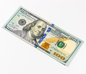Banknotes in US currency as US dollar