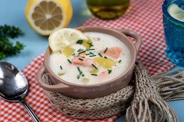 Lohikeitto Finnish salmon and potato soup