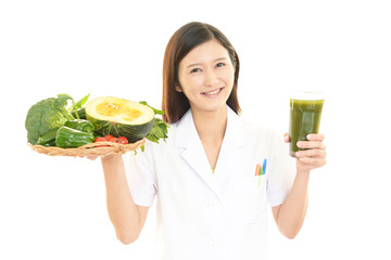 笑顔の管理栄養士