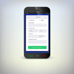 Phone with mobile wallet