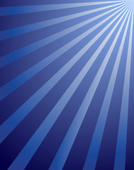 blue rays abstract background