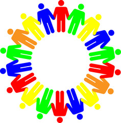 color human figures