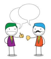 businessman negotiation