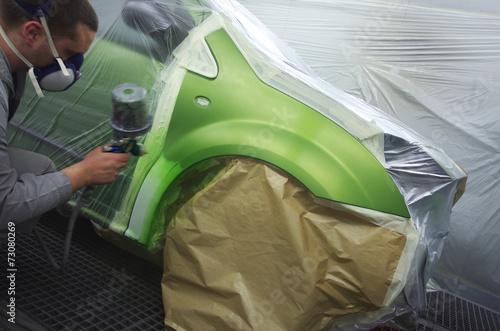 carrossier - cabine de peinture - 73080269