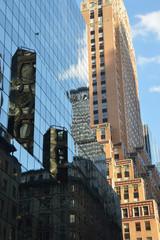 détail Immeubles de Manhattan à New-York