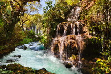 Waterfall Duden at Antalya Turkey