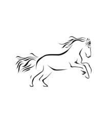 Horse Symbol Vector Illustration