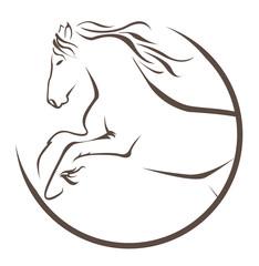 sign symbol of horse