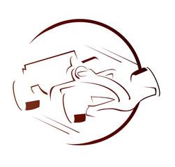 Formula Car Symbol