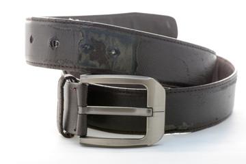 Old leather belt.